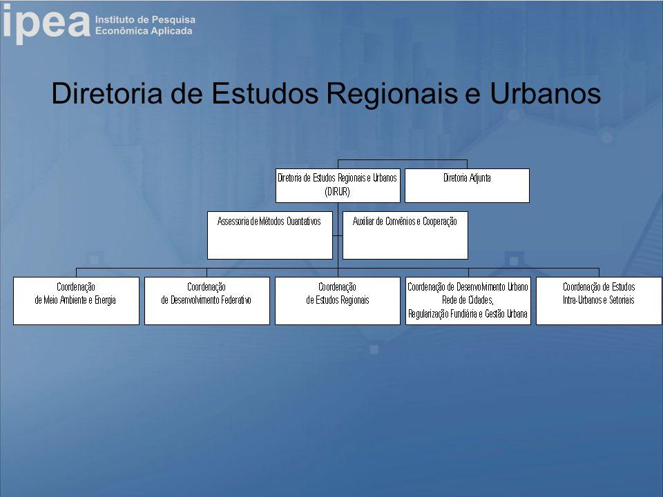 Diretoria de Estudos Regionais e Urbanos