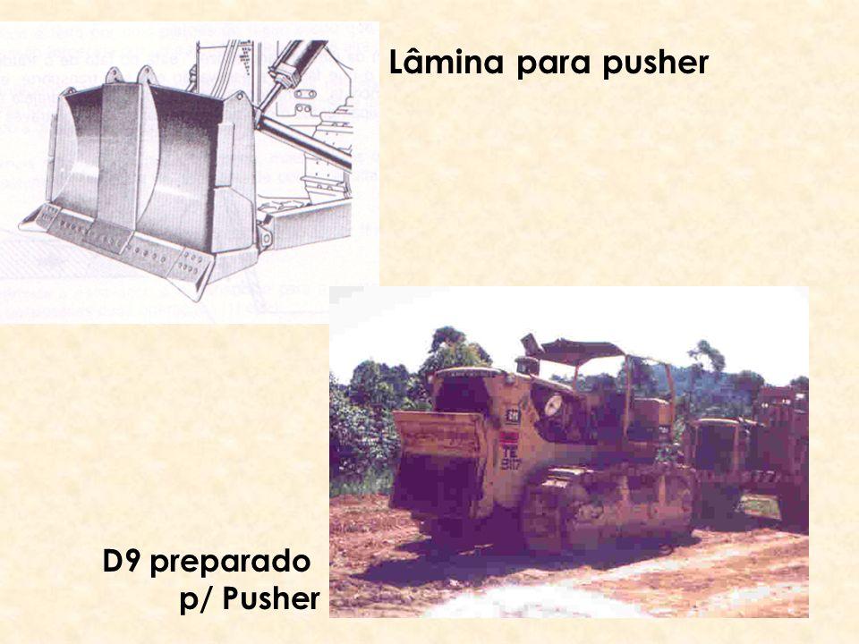 Lâmina para pusher D9 preparado p/ Pusher