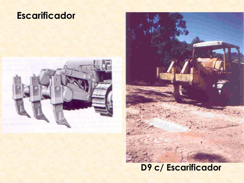 Escarificador D9 c/ Escarificador