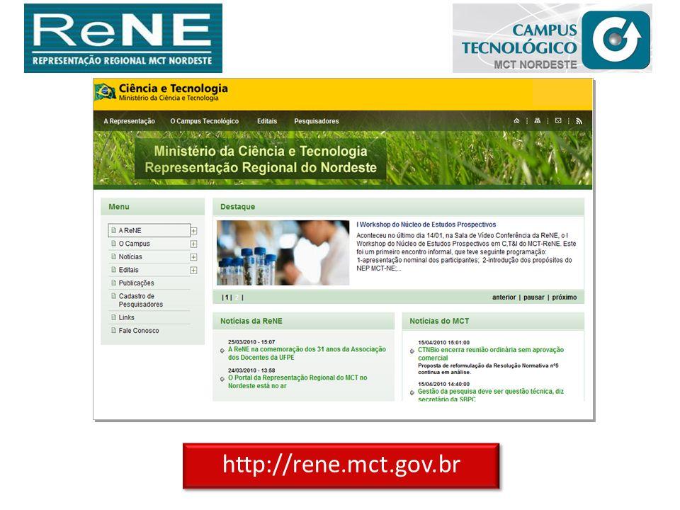 http://rene.mct.gov.br