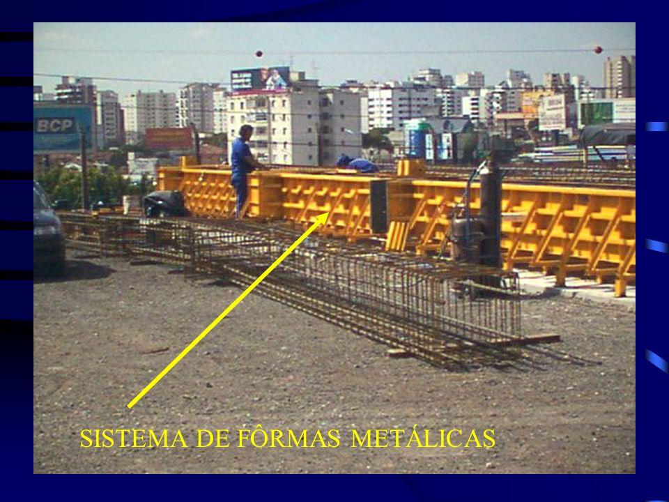 SISTEMA DE FÔRMAS METÁLICAS