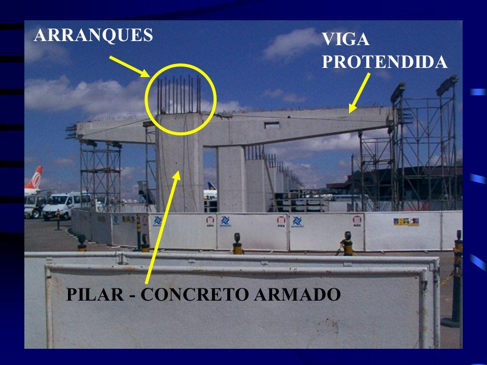 PILAR - CONCRETO ARMADO ARRANQUES VIGA PROTENDIDA