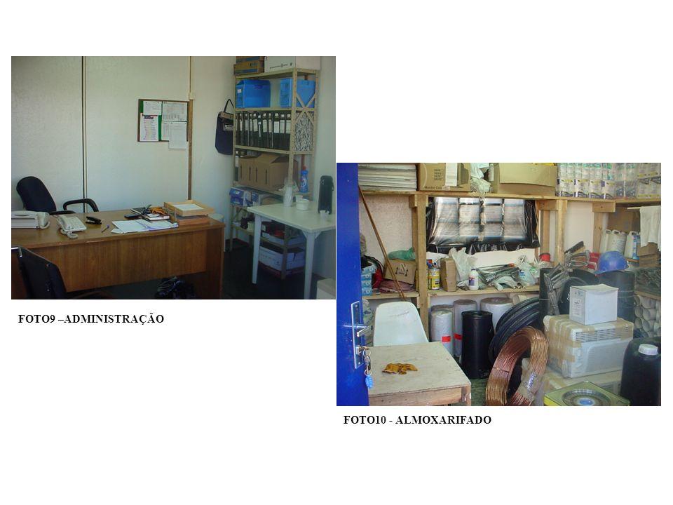 FOTO28 - LOCAÇÃO DOS LIMITES DA CONSTRUÇÃO COM TABEIRAS OU GABARITOS FOTO29 – LOCAÇÃO DAS FUNDAÇÕES