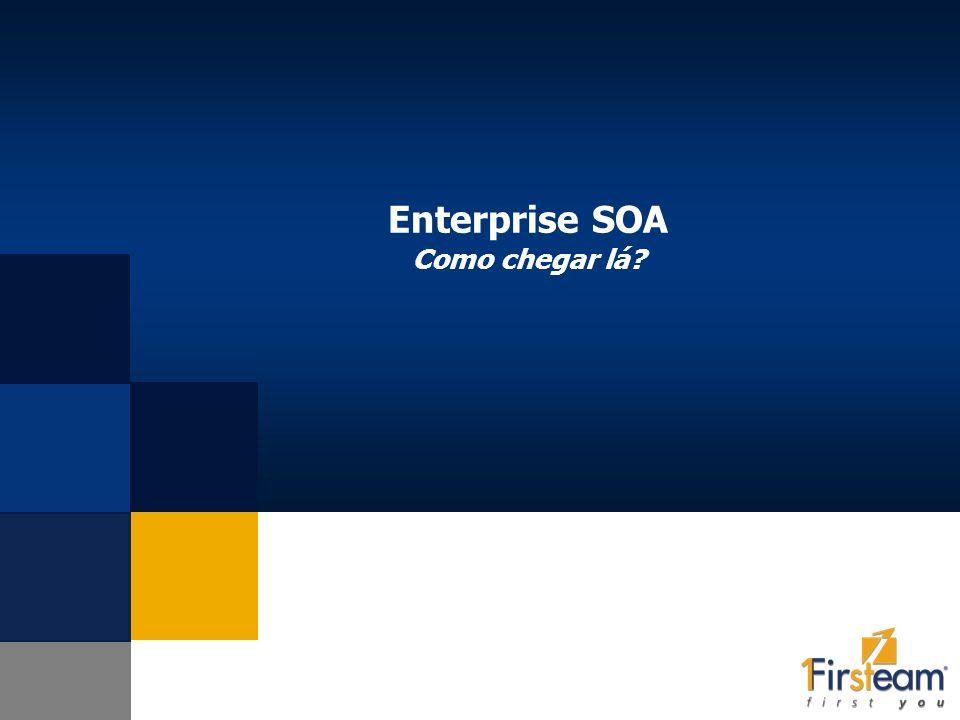 Enterprise SOA Como chegar lá?