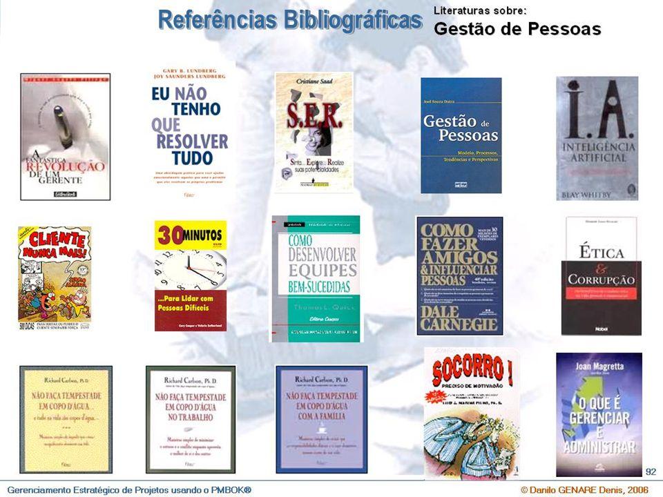 O que é Gerenciamento Estratégico de Projetos e Qual a sua importância ? © Danilo GENARE Denis, 2007 106 Referências Bibliográficas