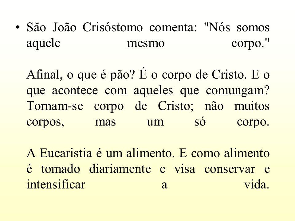São João Crisóstomo comenta: