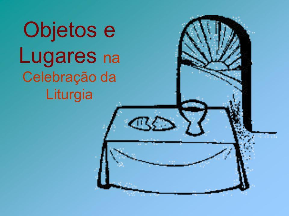 Outros objetos sagrados Purificador Pequeno vaso onde os Ministros Extraordinários da Comunhão purificam os dedos.
