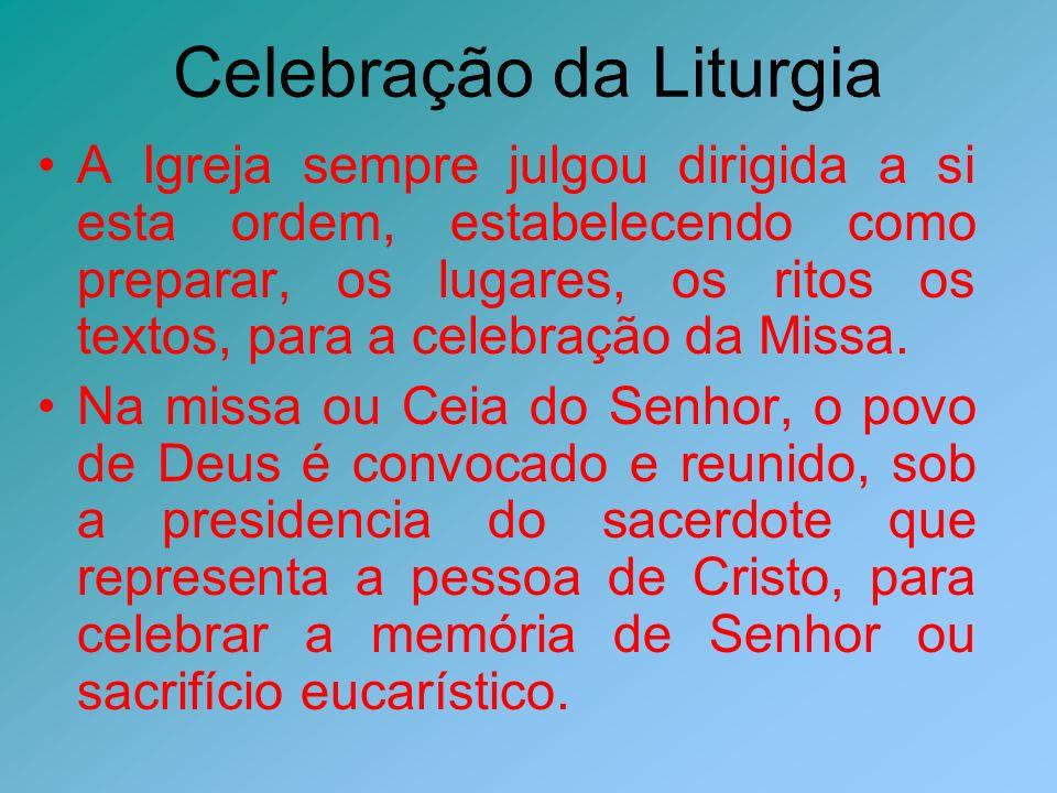As vestes litúrgicas