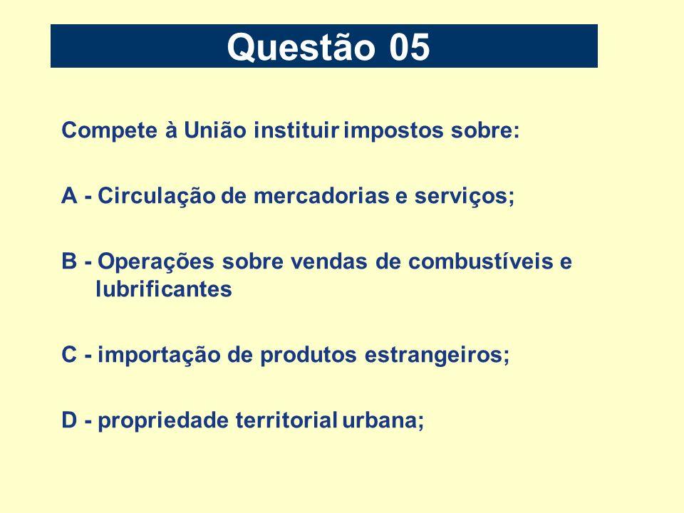 Questão 15 B) ser cobrada na fatura de consumo de energia elétrica.