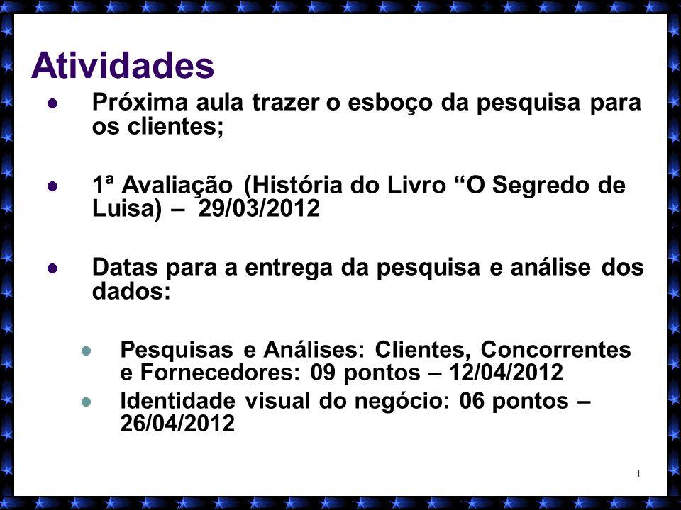 2 Nívea Cordeiro 2012 MERCADO FORNECEDOR CCE: Busca de informações Persistência
