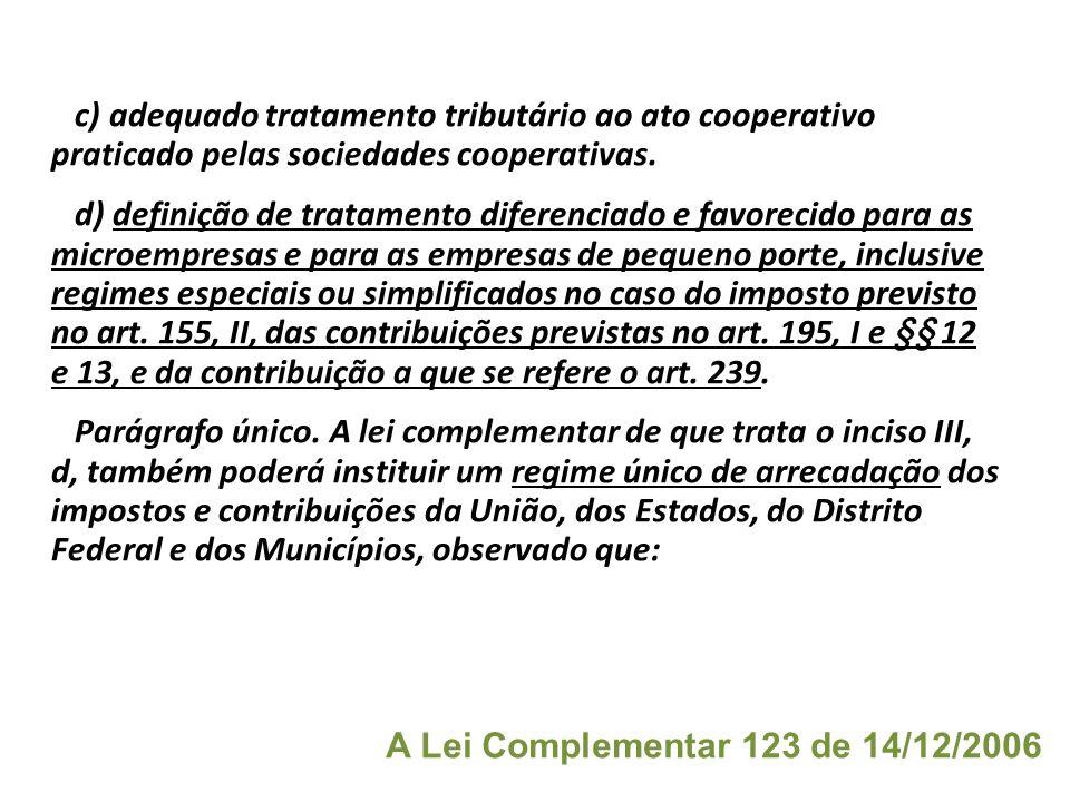 Art. 146. Cabe à lei complementar: I - dispor sobre conflitos de competência, em matéria tributária, entre a União, os Estados, o Distrito Federal e o