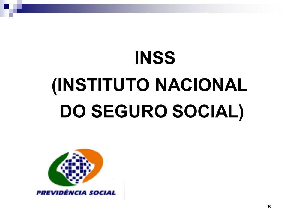 7 A contribuição de cada segurado filiado ao INSS, inclusive doméstico e o avulso, é de 8%, 9% e 11% de acordo com o salário de contribuição determinado pela previdência social.