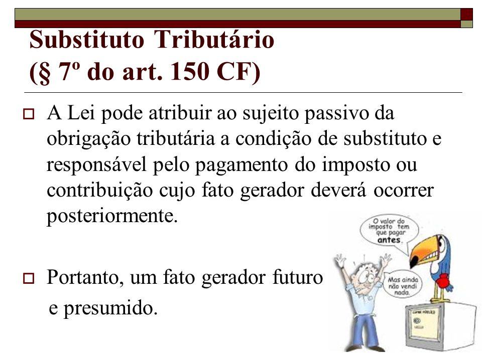 Substituto Tributário (§ 7º do art.