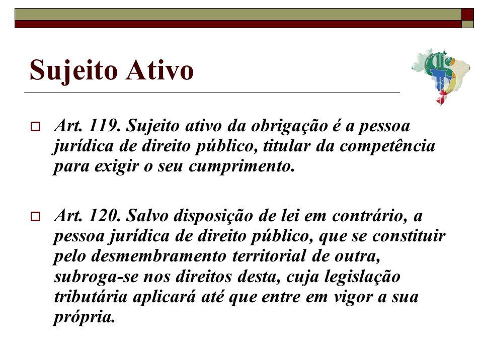 Sujeito Ativo Art.119.