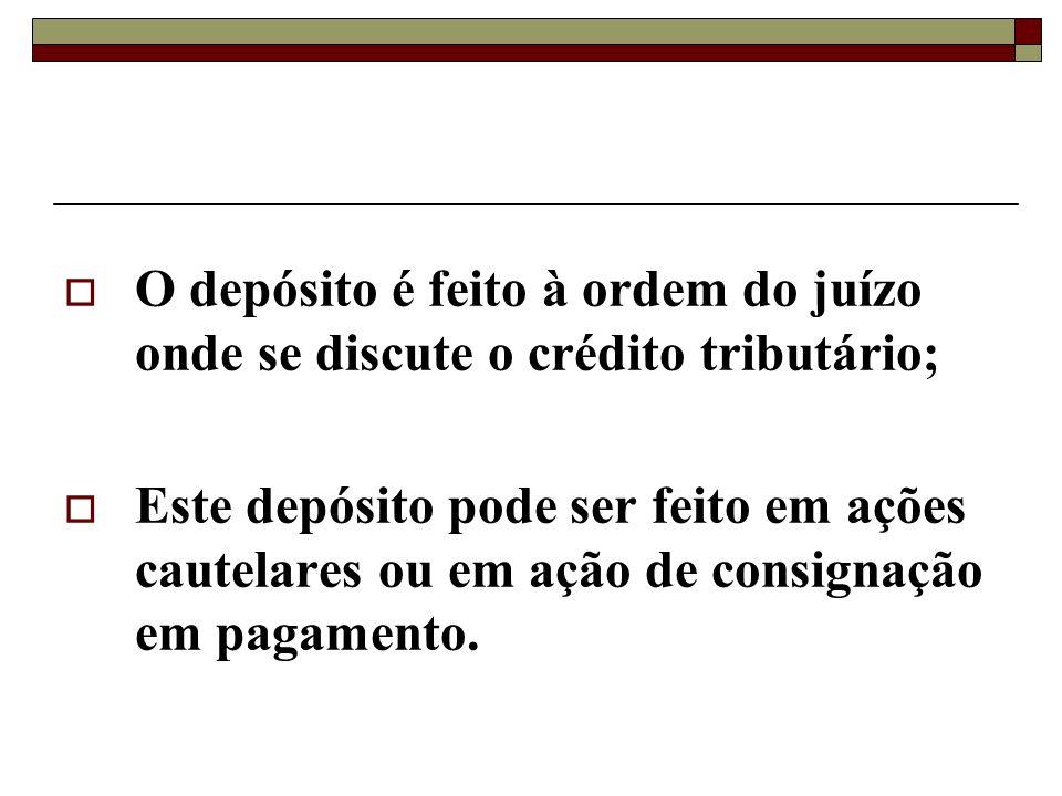 Enquanto o contribuinte contesta judicialmente a validade do crédito tributário, o Poder Público está impedido de exigi-lo;