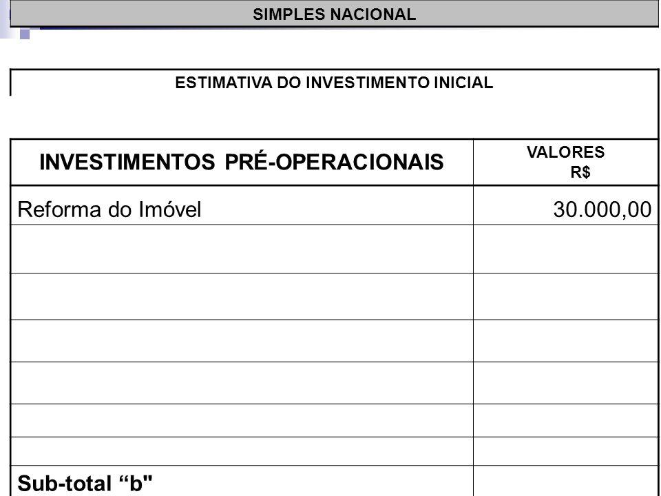 >>0 >>1 >> 2 >> 3 >> 4 >> Despesas Pré- Operacionais