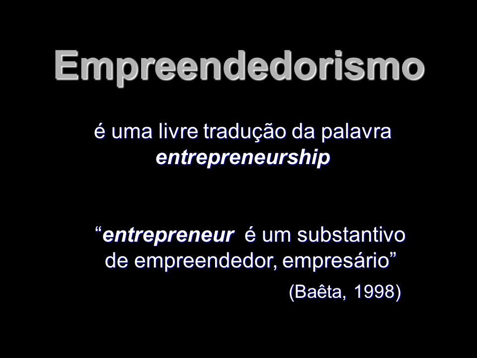 O empreendedor, ao possuir uma idéia, lança seu olhar para o futuro, objetivando identificar as imagens que irá perseguir.