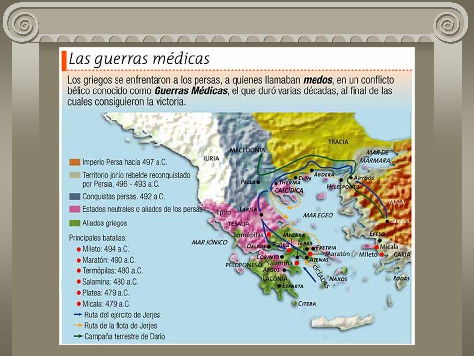 A Confederação ou Liga de Delos foi uma aliança militar entre as cidades gregas – liderada por Atenas – para vencer os Persas.
