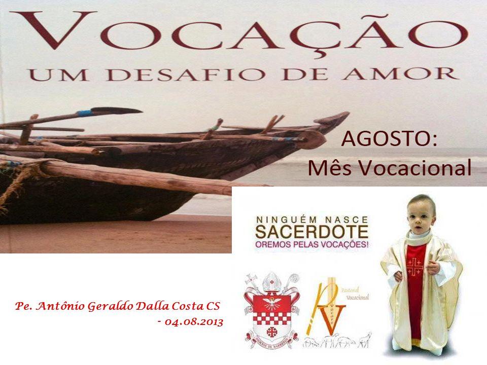 Estamos celebrando o mês vocacional. A Vocação é um dom gratuito, um chamado, um convite, uma proposta de Deus, que se apresenta à nossa liberdade e n