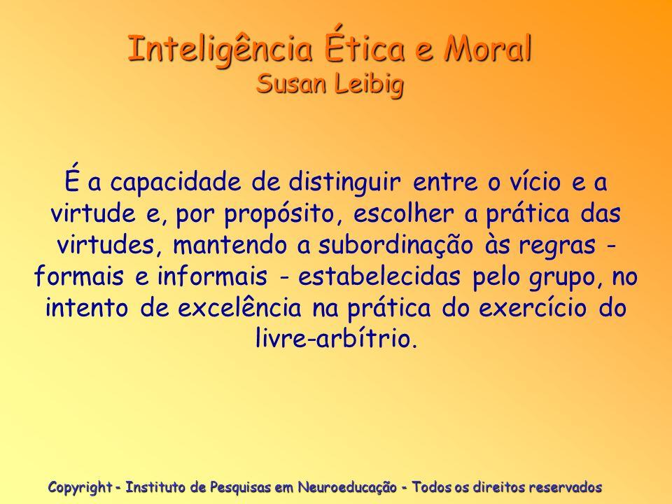 Copyright - Instituto de Pesquisas em Neuroeducação - Todos os direitos reservados Camadas do Córtex Cerebral Camadas do Córtex Cerebral Ref: Prof.