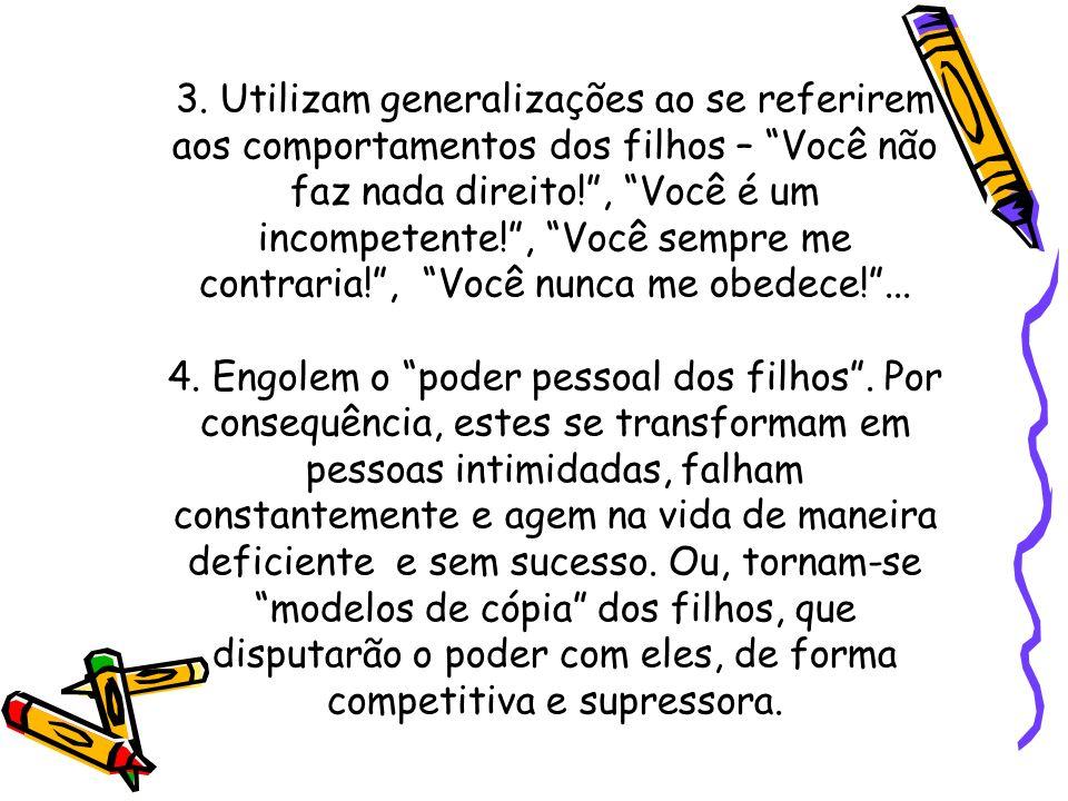 Características de Pais Permissivos 1.