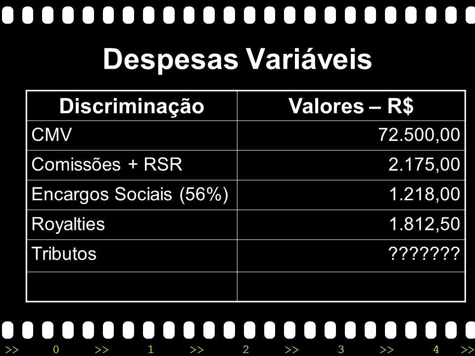 >>0 >>1 >> 2 >> 3 >> 4 >> Despesas Variáveis