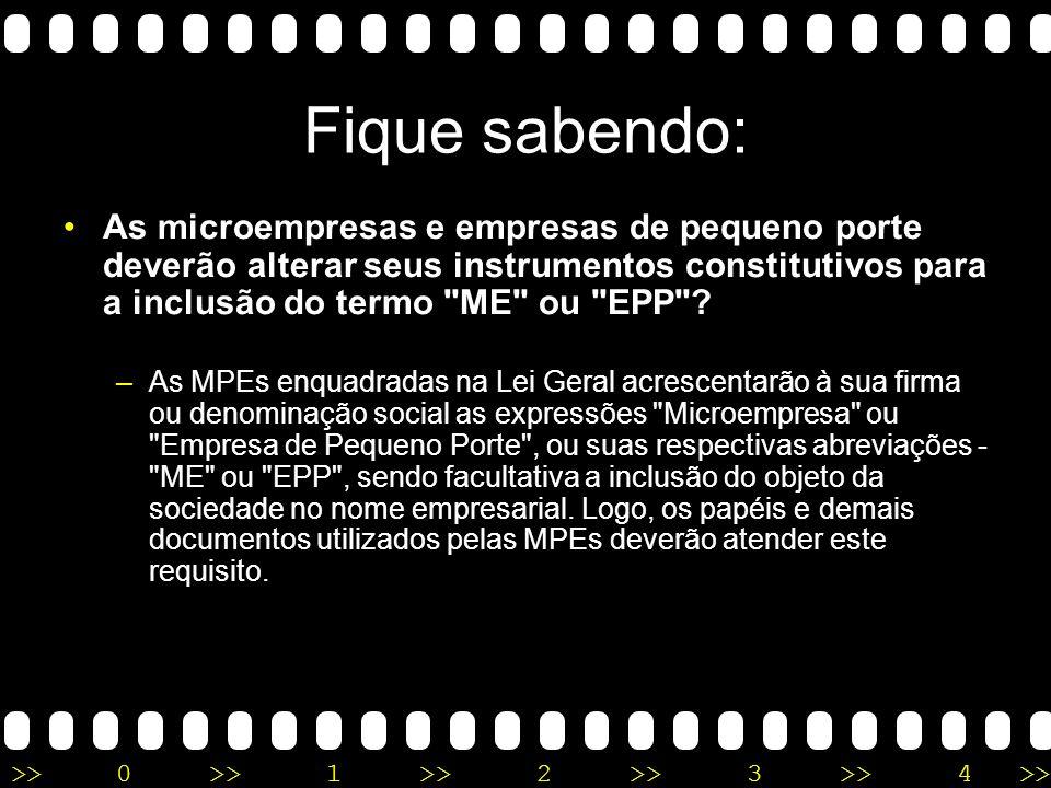 >>0 >>1 >> 2 >> 3 >> 4 >> Fique sabendo: A Lei Geral e acesso à justiça pelas MPEs – A Lei Geral garante às MPEs, conforme definido na Lei Complementar, acesso ao Juizado de Pequenas Causas para a resolução dos seus problemas judiciais.