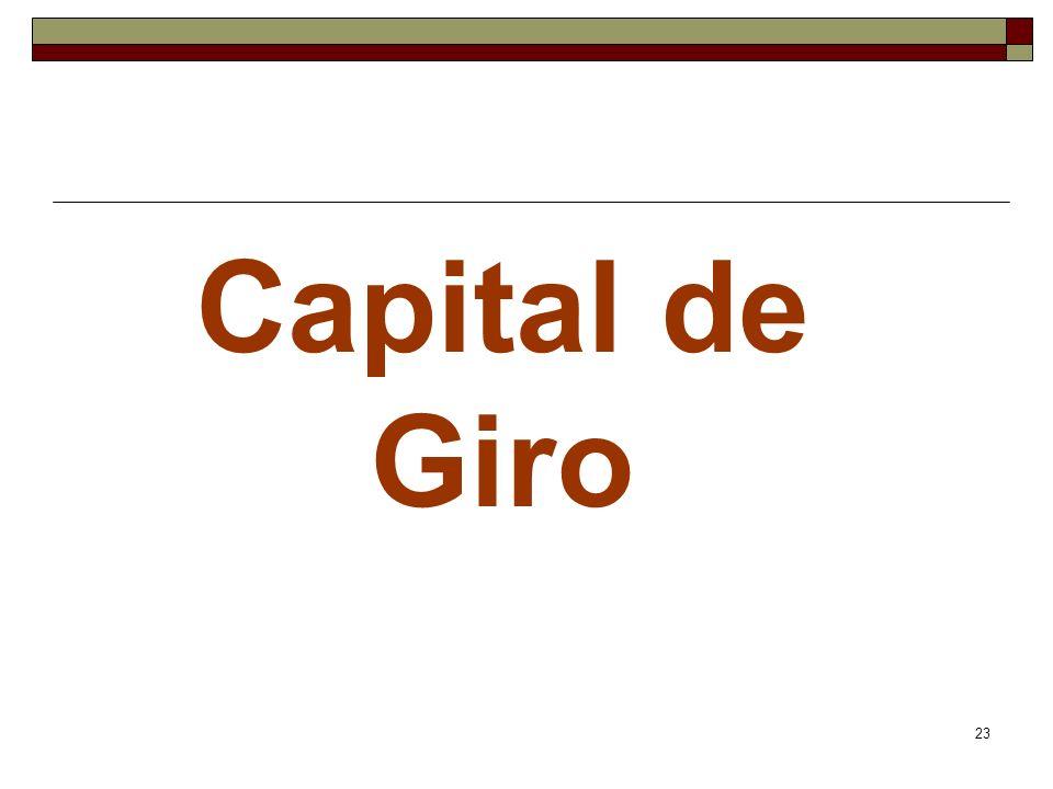 23 Capital de Giro