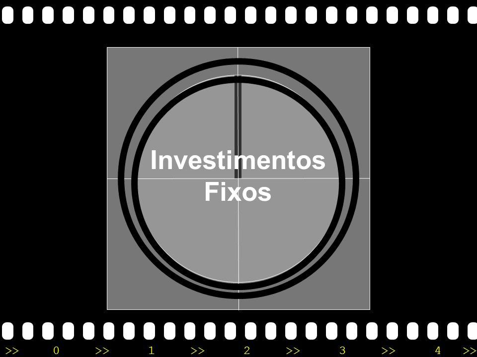 >>0 >>1 >> 2 >> 3 >> 4 >> Quanto será necessário GASTAR para montar a empresa e INICIAR as atividades? Investimentos Fixos Despesas Pré-Operacionais C