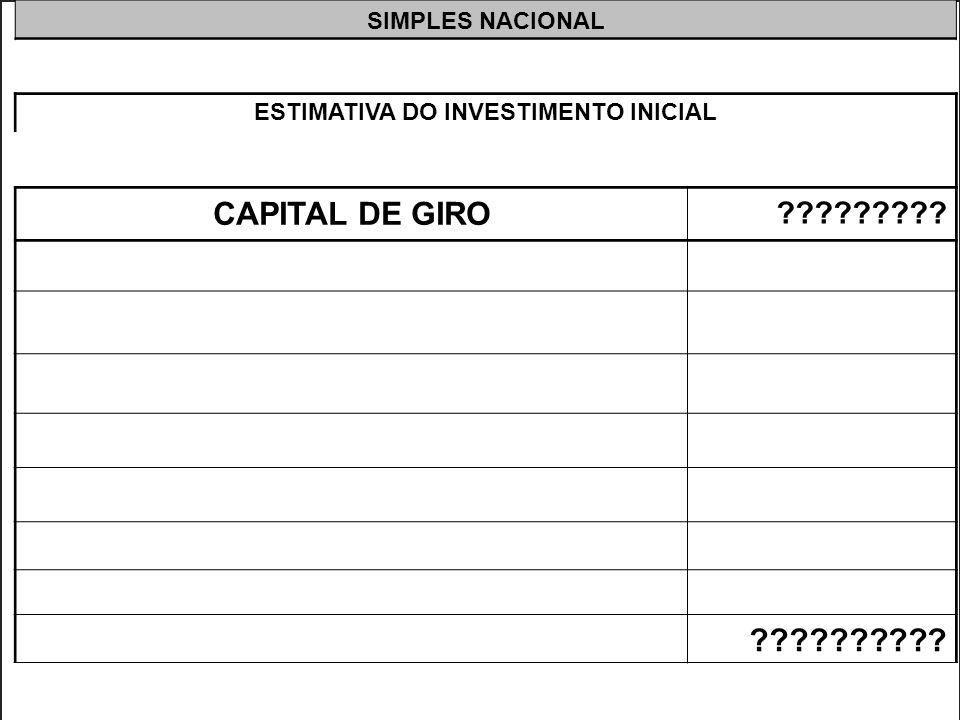 >>0 >>1 >> 2 >> 3 >> 4 >> Para calcular o Capital de Giro ainda não dispomos de todos os dados, por isso vamos colocar uma interrogação para calculá-l