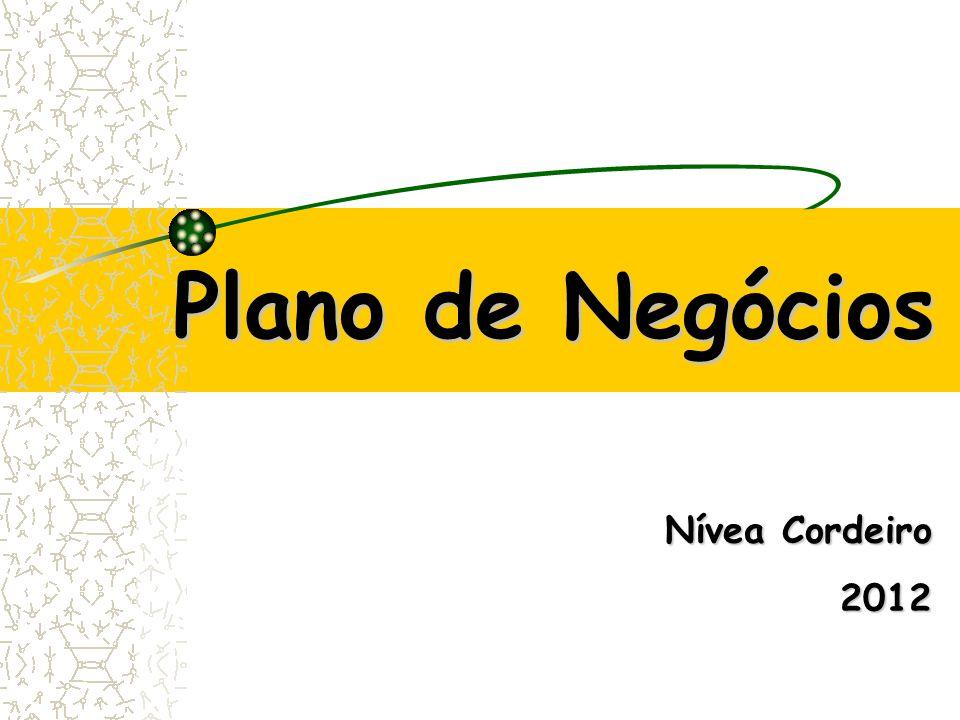 Plano de Negócios Nívea Cordeiro 2012