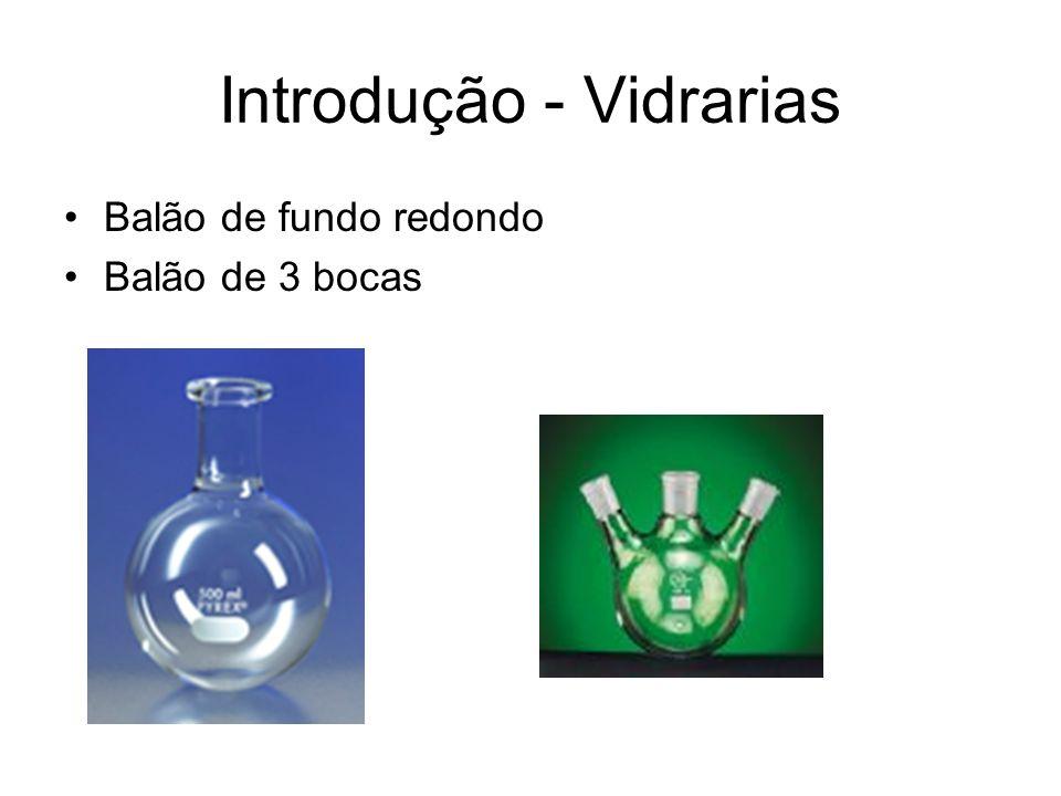Balão de fundo redondo Balão de 3 bocas Introdução - Vidrarias