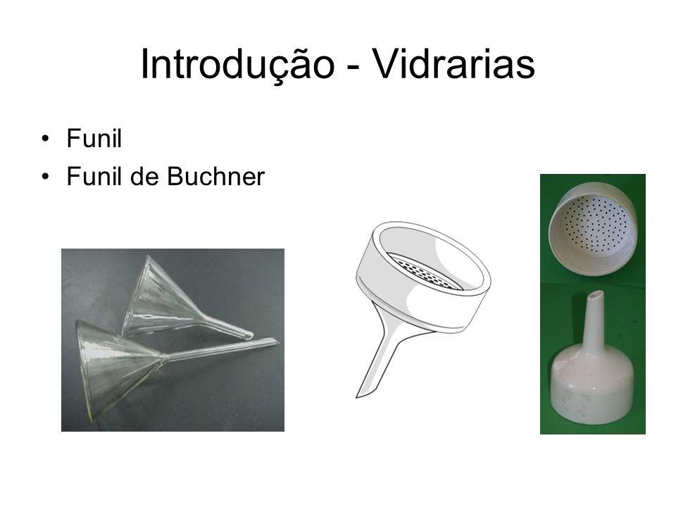 Funil Funil de Buchner Introdução - Vidrarias