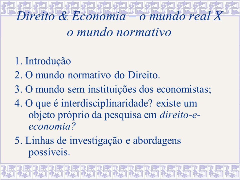 1.Introdução: a questão da pesquisa interdisciplinar O que é interdisciplinaridade.