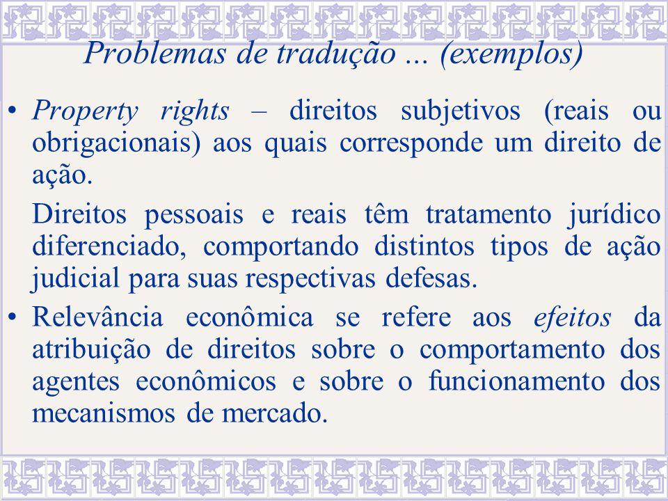 4.Há espaço para integrar análise jurídica e econômica.