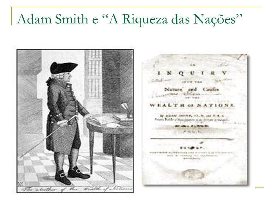 Adam Smith e A Riqueza das Nações