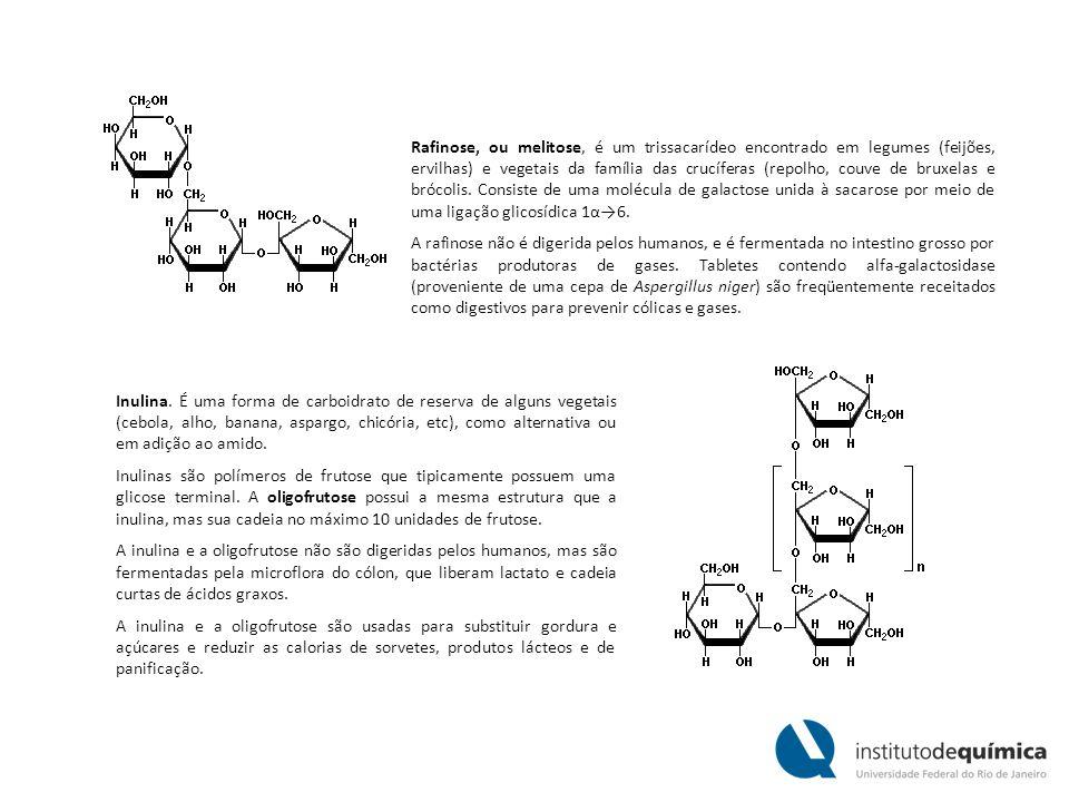 Rafinose, ou melitose, é um trissacarídeo encontrado em legumes (feijões, ervilhas) e vegetais da família das crucíferas (repolho, couve de bruxelas e