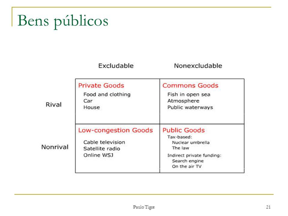 Paulo Tigre 21 Bens públicos