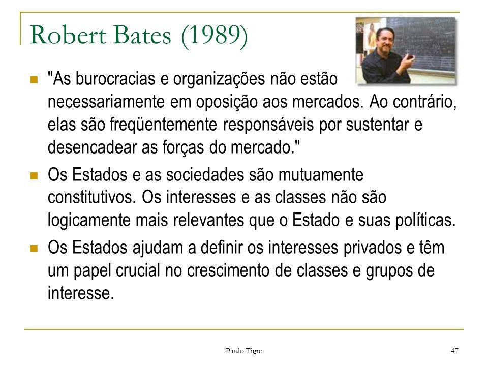Paulo Tigre 47 Robert Bates (1989)