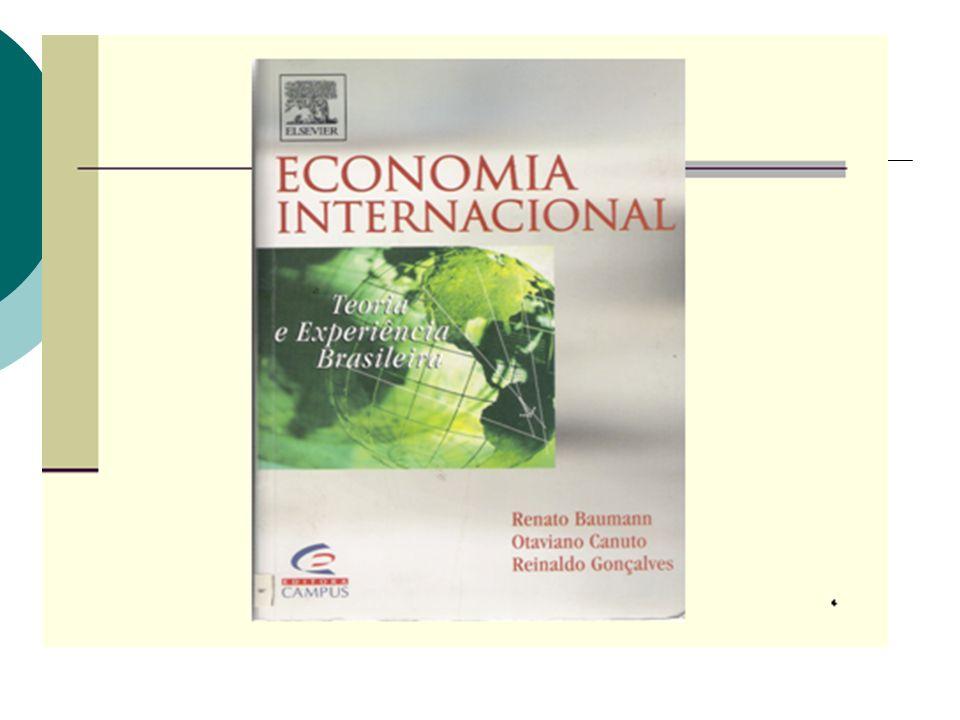 Síntese Não há uma teoria geral dos determinantes do comércio internacional
