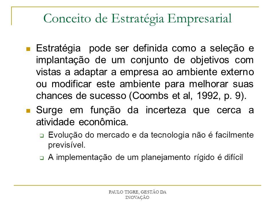 Infra-estrutura Necessidades de economias externas em infra-estrutura cient.e tecnológica.
