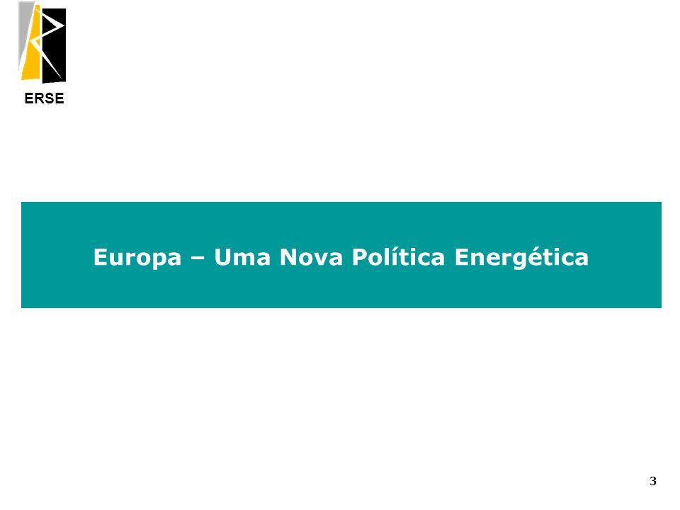 ERSE Europa – Uma Nova Política Energética 3