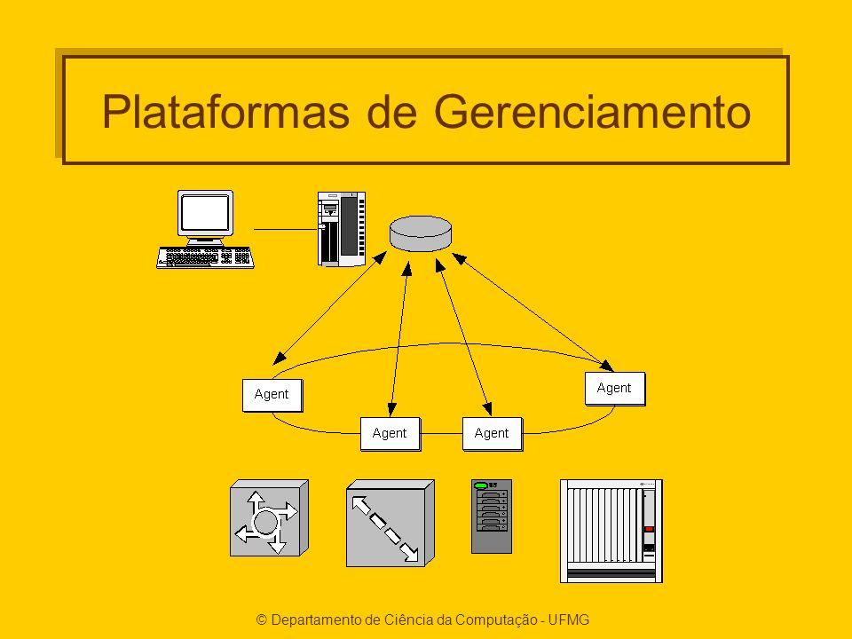 © Departamento de Ciência da Computação - UFMG Plataformas de Gerenciamento