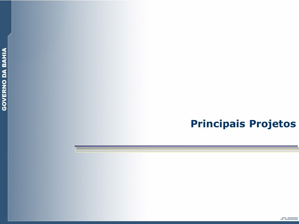 Principais Projetos
