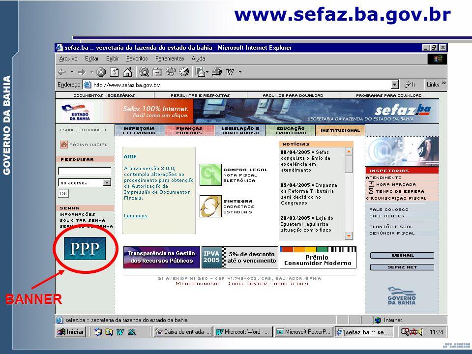 www.sefaz.ba.gov.brBANNER