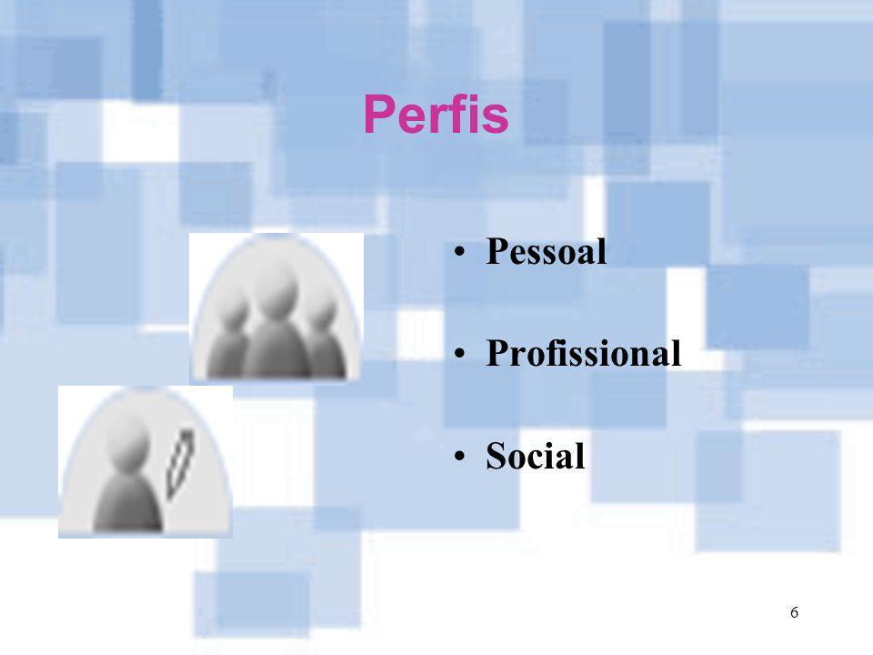 6 Perfis Pessoal Profissional Social