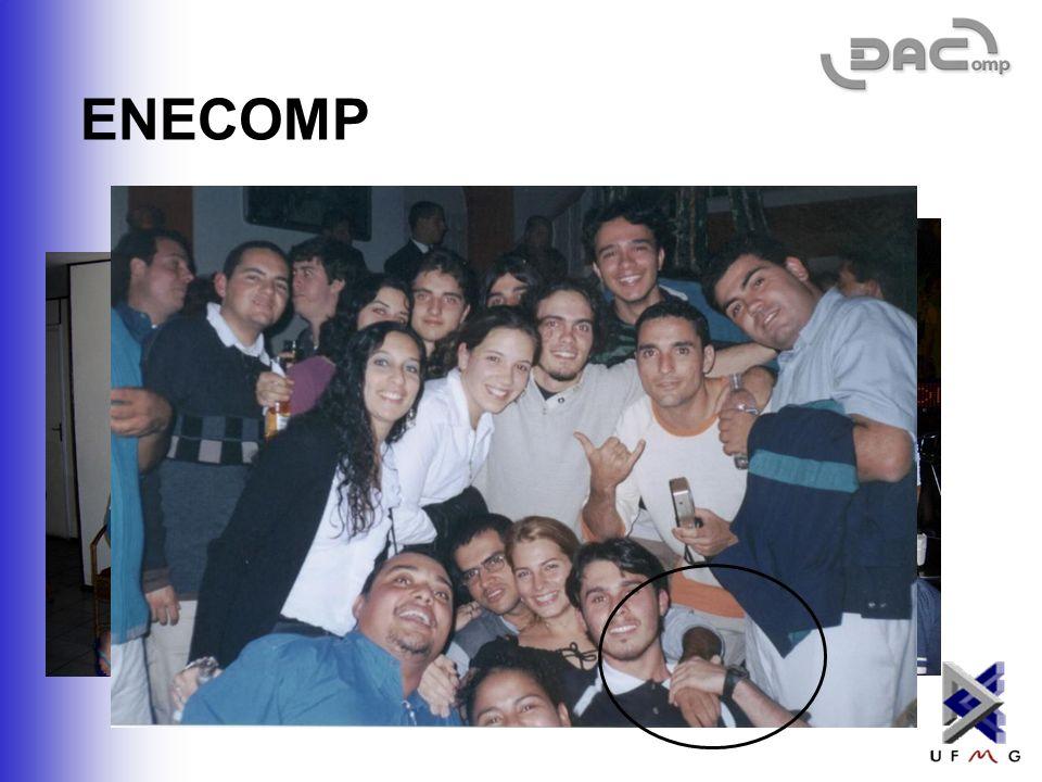 ENECOMP - Encontro Nacional dos Estudantes de Computação O ENECOMP foi realizado em Poços de Caldas – MG, na semana passada. http://www.dcc.ufmg.br/da
