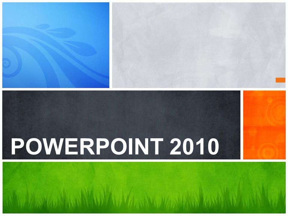 Qual é a sua Mensagem? POWERPOINT 2010