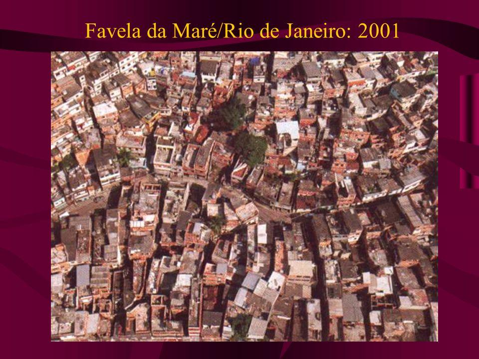 Favela da Maré/Rio de Janeiro: 2001
