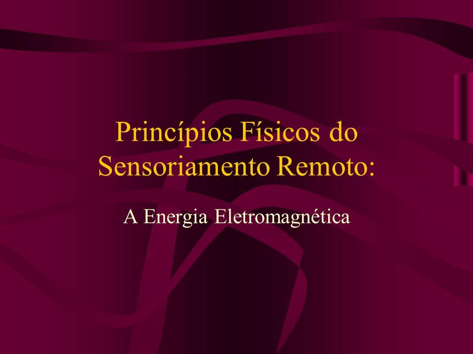 Princípios Físicos do Sensoriamento Remoto: A Energia Eletromagnética